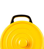 Yellow Cooking Pot X Royalty Free Stock Images