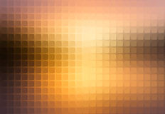 Yellow coral pink black abstract rounded mosaic background Royalty Free Stock Photo