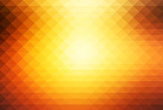 Yellow coral pink black rows of triangles background stock photography