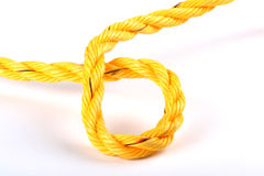 Yellow cord Stock Image