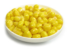 Yellow corn Stock Images
