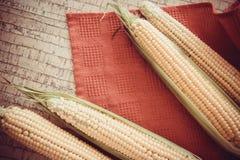 Yellow corn cobs Royalty Free Stock Photos