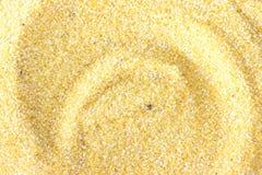 Yellow corn flour Stock Photo