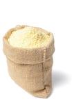 Yellow corn flour Royalty Free Stock Photos