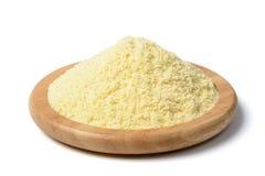 Yellow corn flour Stock Images