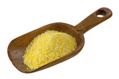 Yellow corn grits Royalty Free Stock Photo