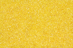 Yellow corn meal  background Stock Image