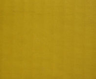 Yellow corrugated cardboard background Stock Photography