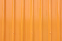 Yellow Corrugated Longrun Iron Stock Images