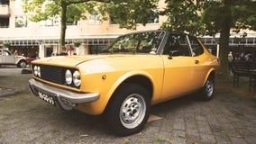 Yellow Coupe stock photo