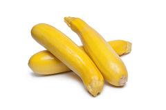 Yellow courgettes Stock Image