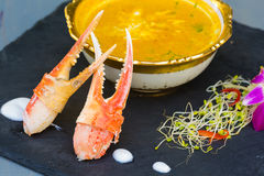 Yellow Crab Curry Royalty Free Stock Photography