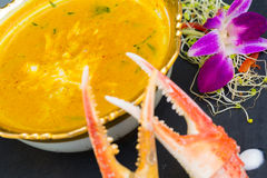 Yellow Crab Curry Stock Image