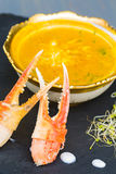 Yellow Crab Curry Stock Photo