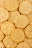 Yellow crackers background Royalty Free Stock Photo