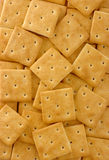Yellow crackers background Stock Photo