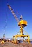Yellow Crane stock photos