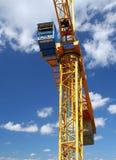 Yellow crane Royalty Free Stock Photos