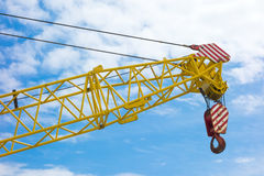 Yellow Crane Stock Photography