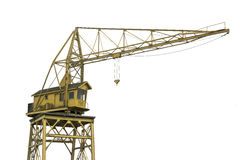 Yellow crane Royalty Free Stock Photography