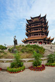 Yellow Crane Tower temple Wuhan Hubei China royalty free stock images