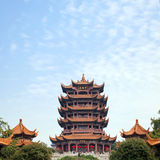 Yellow Crane Tower Wuhan China Stock Photography