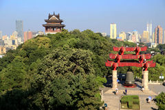 Yellow Crane tower in Wuhan city Stock Photography