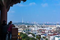 Yellow Crane Tower in Wuhan Stock Image