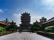 Yellow Crane Tower in Wuhan Stock Photos