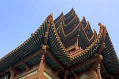 Yellow Crane Tower in Wuhan Wuchang Royalty Free Stock Images