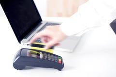 Yellow Credit card Stock Photos