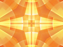 Yellow cross background Royalty Free Stock Image