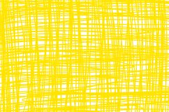 Yellow cross line pattern in rectangular royalty free illustration