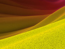 Yellow crust and purple skies backgrounds Stock Photo