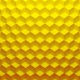 Yellow cubes Stock Photo