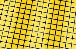 Yellow Cubes Background Royalty Free Stock Images