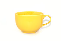 Yellow cup Stock Image