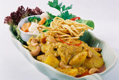 Yellow Curry Royalty Free Stock Photography