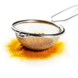 Yellow curry powder Stock Photography