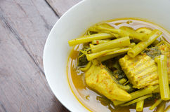 Yellow curry royalty free stock photo