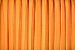 Yellow curtain. Textured and background Royalty Free Stock Photography