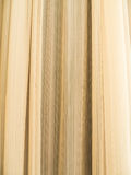 Yellow curtain Royalty Free Stock Image