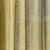 The yellow curtain Royalty Free Stock Images