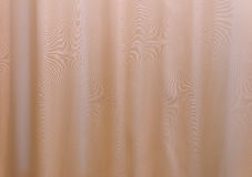 yellow curtain fabric texture for background Stock Photo