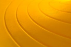 Yellow Curve-02 Royalty Free Stock Image