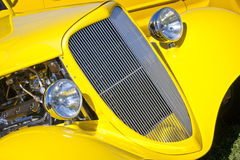 Yellow Curves Royalty Free Stock Images