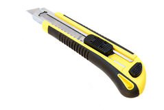 Yellow cutter Royalty Free Stock Image
