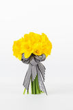 Yellow daffodil bouquet Stock Photography