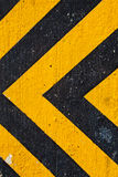 Yellow danger. A texture with yellow and black danger strips Stock Image