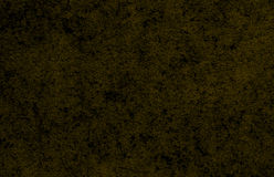 Yellow dark wall background or texture Royalty Free Stock Photography